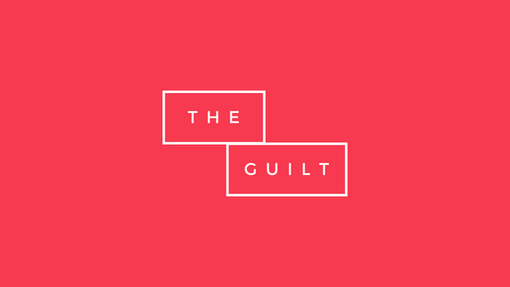 graphic says the guilt