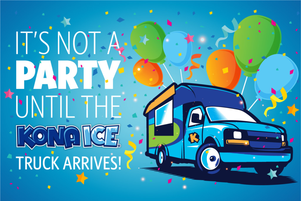 If Youre Looking For A Great Party Idea Try Kona Ice Its Surprise Your Little One Who Loves Shaved Drives Up And Treats The