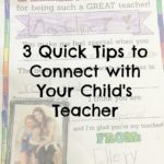 3 Tips to Connect with Your Child's Teacher