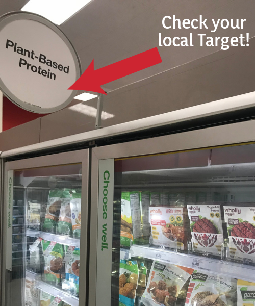 wholly veggie at Target