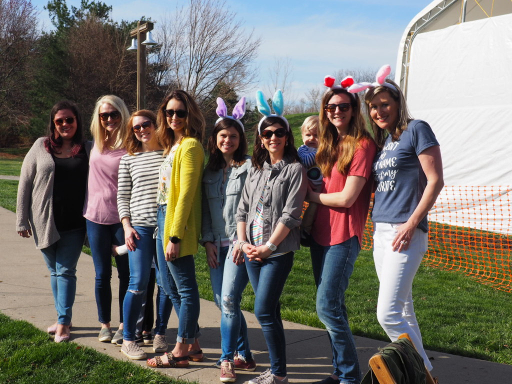 KCMB team at Easter Egg Event