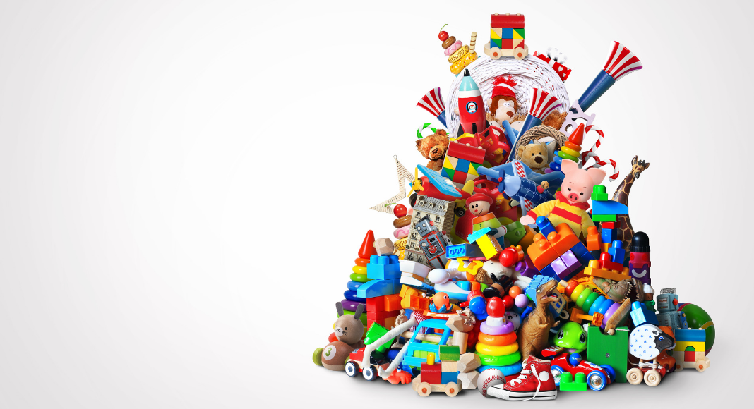 pile of toys