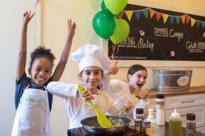 Taste Buds Kitchen birthday party
