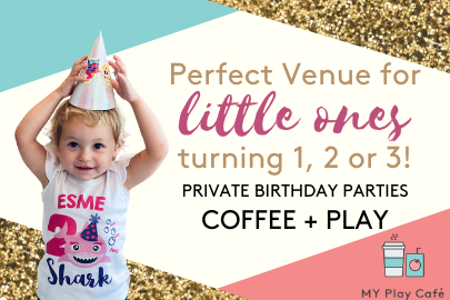 My Play Cafe birthday party