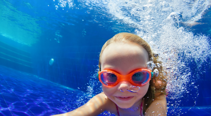swim lessons at the YMCA