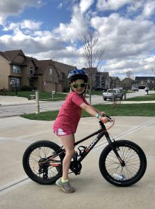 pic of kid on bike