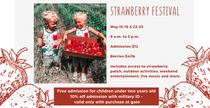 Fun Farm Strawberry Season