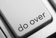 "pic of computer key that says ""do over"""