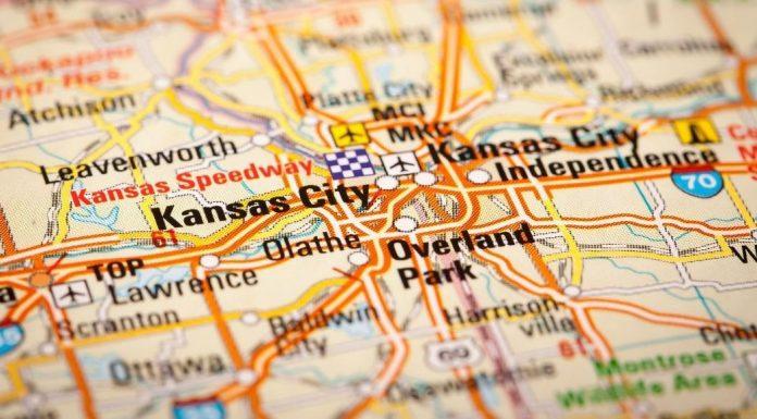 pic of map of Kansas City metro
