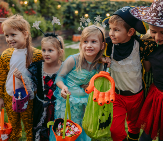 kids trick or treating