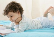 pic of young boy reading