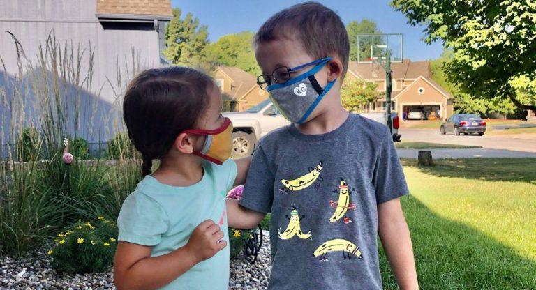 Kids' Masks by Charlie Hustle, a KC Favorite