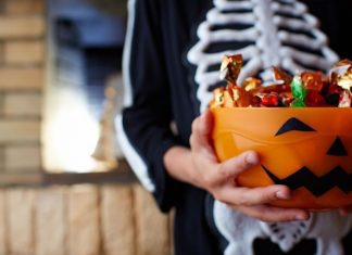 pic of Halloween candy bowl