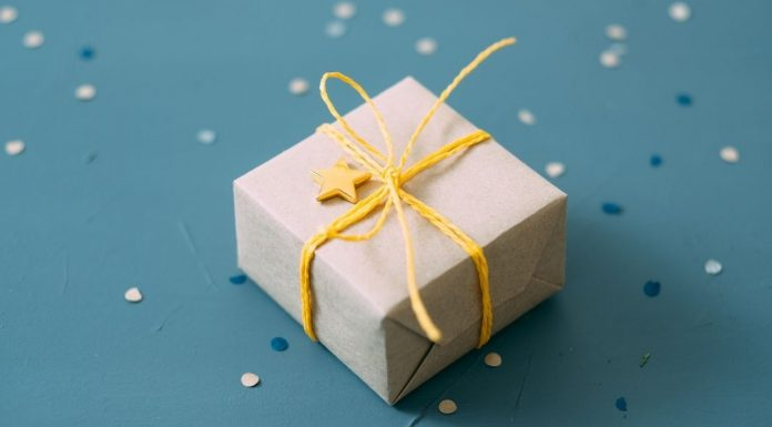 pic of a wrapped gift