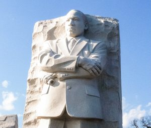Pic of MLK Memorial in Washington, D.C.