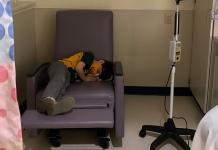 boy with migraine at Children's Mercy