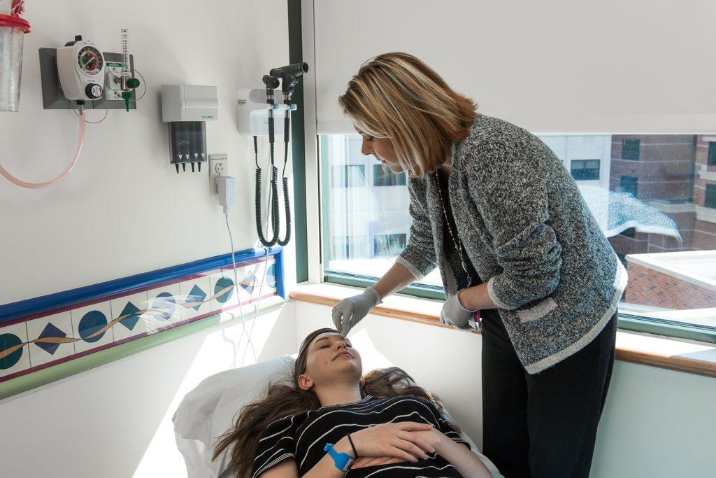 Headache Clinic treatment at Children's Mercy