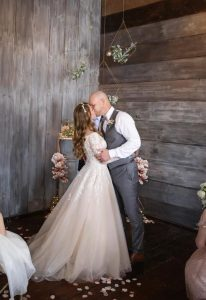 pic of couple dancing at their wedding