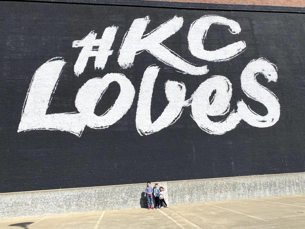 KC Loves mural