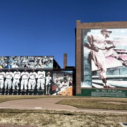 Monarch's baseball mural at 18th and Vine