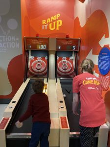 Ramp it Up is just like skee ball