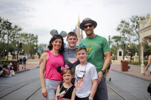 Disney World family picture