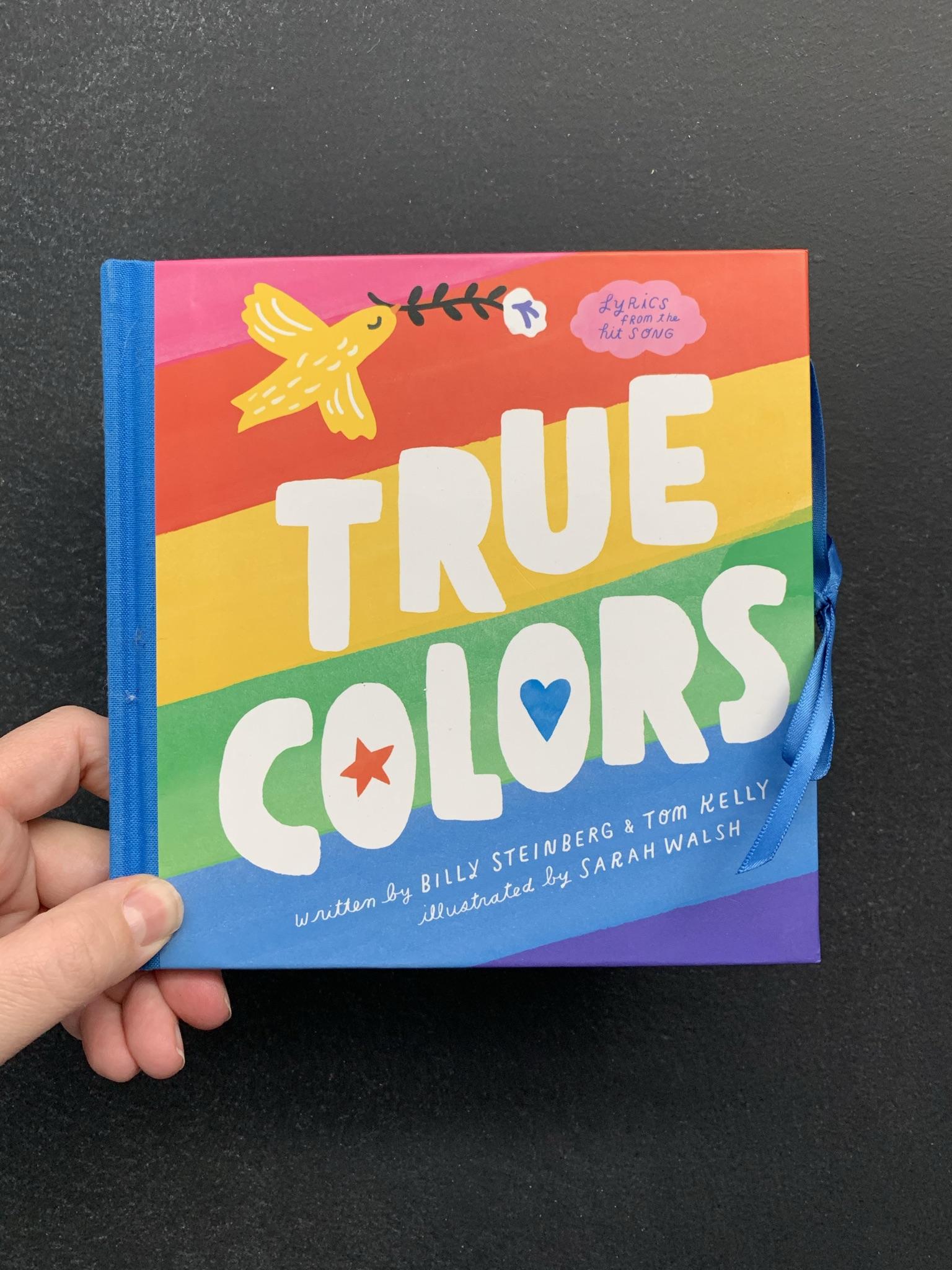 Sarah True Colors cover
