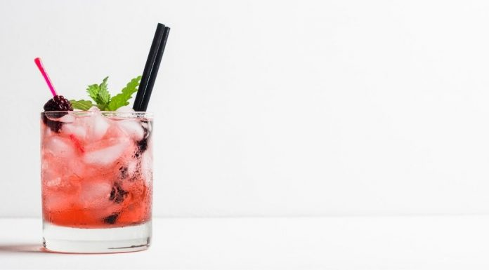 a fruity drink