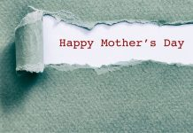 typed words: Happy Mother's Day