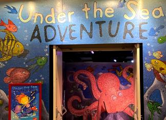 Crown Center free exhibit, Under the Sea