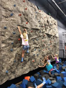 pic of climbing wall