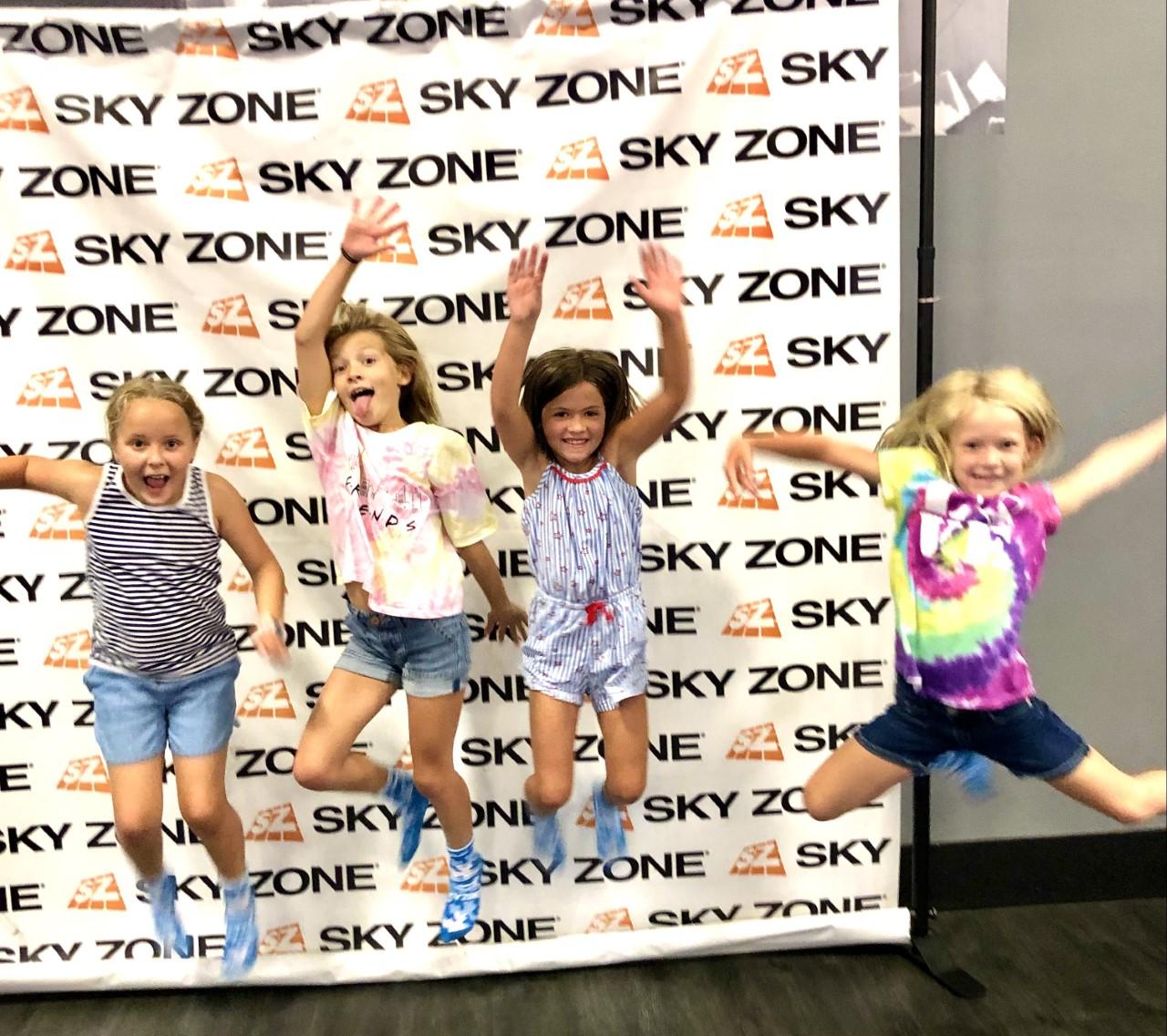 sky zone jump pic