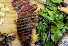 steak dinner from Alta Vista